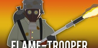 Flamethrower-Trooper-World-War-I
