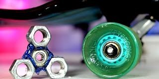Make-a-Hand-Spinner-From-a-Skateboard-EASY-DIY-Fidget-Toy-for-Less-than-2