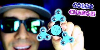 Top-7-RARE-Fidget-Spinners-CHANGES-COLOR-AND-FOLDS-Cool-Edc-Hand-Spinner