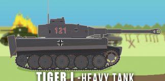 WWII-Tanks-Tiger-I-Heavy-Tank
