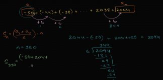 Worked-example-arithmetic-series-sum-expression-High-School-Math-Khan-Academy
