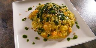 Learn-to-Cook-Vegetarian-Pumpkin-Risotto-with-Sage-and-Pine-Nuts