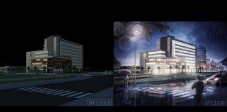 Night-Scene-Photoshop-architecture-rendering-tutorial-Day-to-night