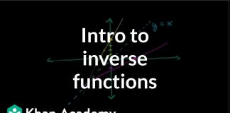Introduction-to-function-inverses-Functions-and-their-graphs-Algebra-II-Khan-Academy