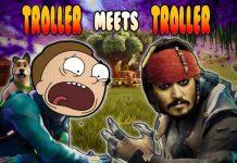 Gmod Prop Hunt Funny Moments - Terroriser Troll Barrel! (Garry's Mod