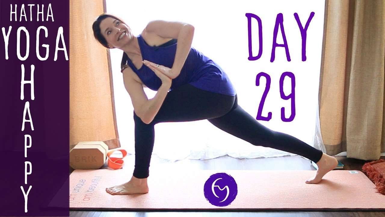 30 Minute Hatha Yoga Happiness: Practice Acceptance and