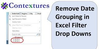 Remove-Date-Grouping-in-Excel-Filter-Drop-Downs