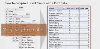Compare-Multiple-Lists-with-a-Pivot-Table