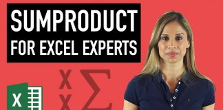 Master-Excel39s-SUMPRODUCT-Formula