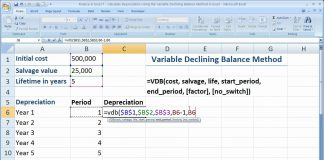 Finance-in-Excel-7-Calculate-The-Declining-Balance-Method-of-Depreciation-in-Excel-Using-VDB