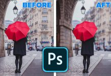 Realistic-background-blur-in-Photoshop-2020-New-FeaturesObject-Select-Lens-Blur