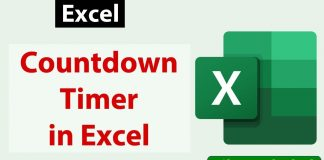 Free-Countdown-Timer-in-Excel