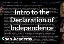 Background-and-introduction-to-the-United-States-Declaration-of-Independence-Khan-Academy