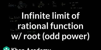 Limits-at-infinity-of-quotients-with-square-roots-odd-power-AP-Calculus-AB-Khan-Academy