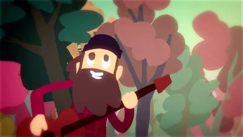 Joe Twoshacks - I Like It Here - Joe Cartoon