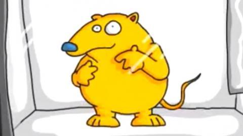 Gerbil in a Microwave - Joe Cartoon